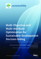 Special issue Multi-Objective and Multi-Attribute Optimisation for Sustainable Development Decision Aiding book cover image