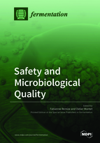 Special issue Safety and Microbiological Quality book cover image