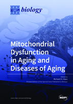 Special issue Mitochondrial Dysfunction in Aging and Diseases of Aging book cover image