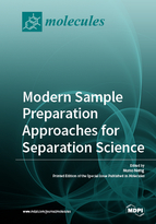 Special issue Modern Sample Preparation Approaches for Separation Science book cover image