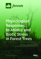 Special issue Physiological Responses to Abiotic and Biotic Stress in Forest Trees book cover image