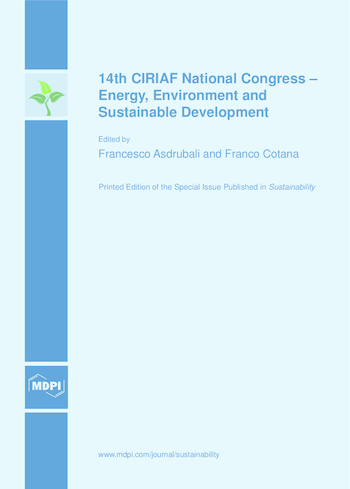 14th CIRIAF National Congress – Energy, Environment and Sustainable Development