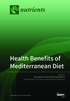 Special issue Health Benefits of Mediterranean Diet book cover image