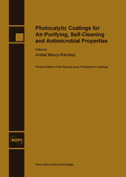 Special issue Photocalytic Coatings for Air-Purifying, Self-Cleaning and Antimicrobial Properties book cover image