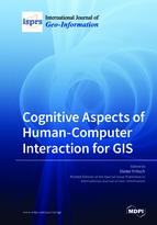 Special issue Cognitive Aspects of Human-Computer Interaction for GIS book cover image