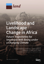 Special issue Livelihood and Landscape Change in Africa: Future Trajectories for Improved Well-Being under a Changing Climate book cover image