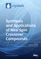 Special issue Synthesis and Applications of New Spin Crossover Compounds book cover image