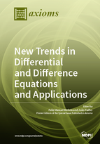 Special issue New Trends in Differential and Difference Equations and Applications book cover image