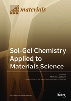 Special issue Sol-Gel Chemistry Applied to Materials Science book cover image
