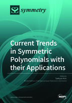 Special issue Current Trends in Symmetric Polynomials with their Applications book cover image