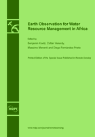 Special issue Earth Observation for Water Resource Management in Africa book cover image
