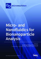 Special issue Micro- and Nanofluidics for Bionanoparticle Analysis book cover image