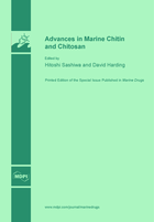 Special issue Advances in Marine Chitin and Chitosan book cover image