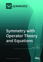 Special issue Symmetry with Operator Theory and Equations book cover image