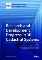 Special issue Research and Development Progress in 3D Cadastral Systems book cover image