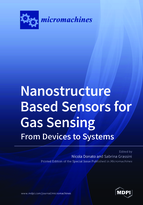 Special issue Nanostructure Based Sensors for Gas Sensing: from Devices to Systems book cover image