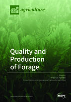 Special issue Quality and Production of Forage book cover image