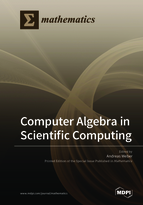 Special issue Computer Algebra in Scientific Computing book cover image