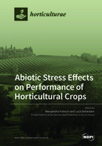 Special issue Abiotic Stress Effects on Performance of Horticultural Crops book cover image