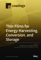 Special issue Thin Films for Energy Harvesting, Conversion, and Storage book cover image