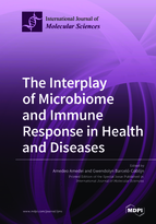 Special issue The Interplay of Microbiome and Immune Response in Health and Diseases book cover image