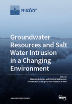 Special issue Groundwater Resources and Salt Water Intrusion in a Changing Environment book cover image