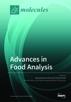 Special issue Advances in Food Analysis book cover image