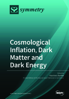 Special issue Cosmological Inflation, Dark Matter and Dark Energy book cover image