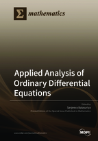Special issue Applied Analysis of Ordinary Differential Equations 2018 book cover image