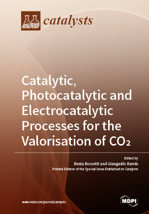 Catalytic, Photocatalytic and Electrocatalytic Processes for the Valorisation of CO<sub>2</sub>