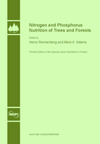 Special issue Nitrogen and Phosphorus Nutrition of Trees and Forests book cover image