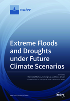 Special issue Extreme Floods and Droughts under Future Climate Scenarios book cover image