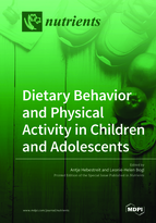 Special issue Dietary Behavior and Physical Activity in Children and Adolescents book cover image
