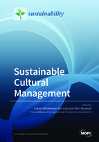 Special issue Sustainable Cultural Management book cover image