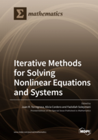 Special issue Iterative Methods for Solving Nonlinear Equations and Systems book cover image