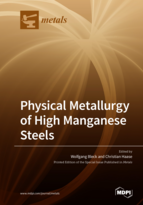 Special issue Physical Metallurgy of High Manganese Steels book cover image