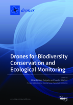 Special issue Drones for Biodiversity Conservation and Ecological Monitoring book cover image