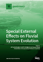 Special issue Special External Effects on Fluvial System Evolution book cover image