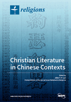 Special issue Christian Literature in Chinese Contexts book cover image
