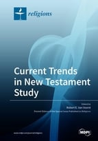 Special issue Current Trends in New Testament Study book cover image