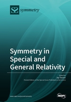 Special issue Symmetry in Special and General Relativity book cover image