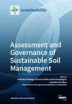 Special issue Assessment and Governance of Sustainable Soil Management book cover image