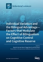 Special issue Individual Variation and the Bilingual Advantage - Factors that Modulate the Effect of Bilingualism on Cognitive Control and Cognitive Reserve book cover image