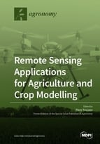 Special issue Remote Sensing Applications for Agriculture and Crop Modelling book cover image