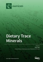 Special issue Dietary Trace Minerals book cover image