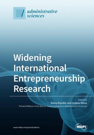 Widening International Entrepreneurship Research