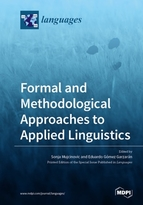 Special issue Formal and Methodological Approaches to Applied Linguistics book cover image