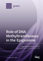 Special issue Role of DNA Methyltransferases in the Epigenome book cover image