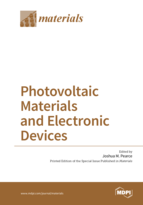 Special issue Photovoltaic Materials and Electronic Devices book cover image
