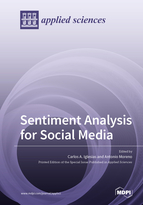 Special issue Sentiment Analysis for Social Media book cover image